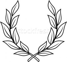 Excellent Snap Shots Laurel Wreath craft Ideas A laurel wreath can be a wreath that is created while using departs plus branches from the gulf laur Mini Tattoos, Leg Tattoos, Flower Tattoos, Body Art Tattoos, Small Tattoos, Sleeve Tattoos, Tattoos For Guys, Laurel Tattoo, Laurel Wreath Tattoo