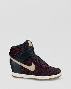Nike Lace Up High Top Sneakers