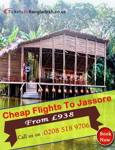 Cheap flights to Jessore: Create a trip to the city of southwestern region of Bangladesh - Jessore with http://www.ticketstobangladesh.co.uk/flights/jessore.aspx. Book exclusive deals on flight tickets from London, UK & Europe to Jessore now.