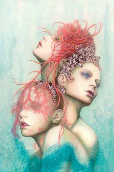 Sea Change  9x12 Fine Art Print by candygears on Etsy, $35.00