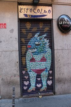 Calle de la Palma. Conde Duque. Madrid. 2015