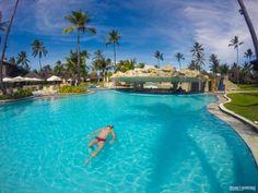 Tranquilidade define essa foto no Grand Mercure Summerville Resort, em Porto de Galinhas