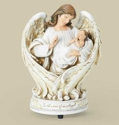 Baby In The Arms Of An Angel Musical Figure