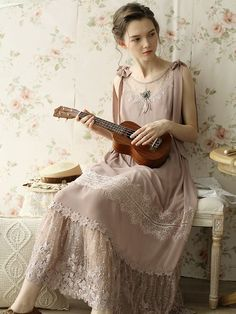 Vintage Summer Outfits, Summer Fashion Outfits, Fairytale Dress, Vestidos Vintage, European Fashion, Dress Me Up, Pretty Outfits, Vintage Fashion, Clothes For Women