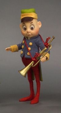 R. John Wright Presents: Brownie Band/Trumpet from the 'Palmer Cox Brownie' Collection - R. John Wright, Bennington, VT