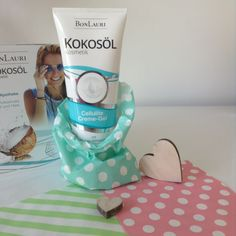Guck-Guck, was versteckt sich denn hier? Das #BonLauri #Kokosöl #Kosmetik Cellulite-Creme Gel! :-)