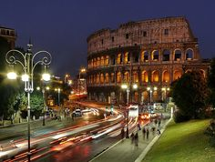 Rome street lights