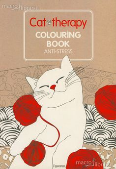 Art Therapy - Cat Therapy - Libro - Colouring Book Anti-Stress
