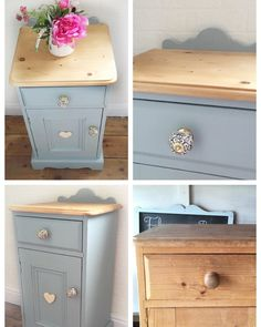 Just finished upcycling this lovely pine cupboard. We added a small shaped upstand made from reclaimed timber to make it a little… Bedroom Furniture Makeover, Painted Bedroom Furniture, Refurbished Furniture, Rustic Pine Furniture, Repurposed Furniture, Furniture Projects, Diy Furniture, Painted Cupboards, Upcycled Home Decor