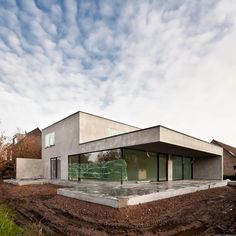 Hotel Architecture, Modern Architecture House, Modern House Design, Architecture Design, Concrete Architecture, Bungalow, Build My Own House, Building A House, Concrete Houses