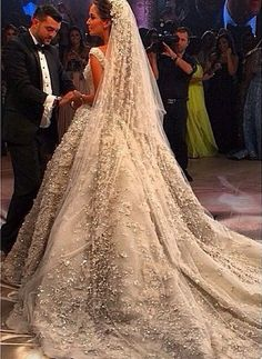 Elie Saab wedding Gown ❤️