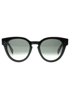 Céline Thin Preppy Sunglasses | Blue&Cream