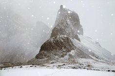 Les paysages islandais enveloppés de snjór par Christophe Jacrot
