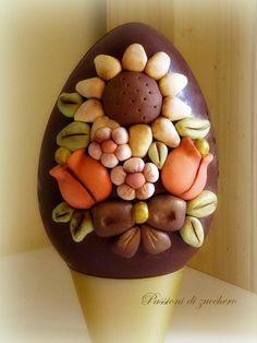 chocolat oeuf ... - Gâteau par passioni di Zucchero - CakesDecor