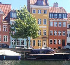 Christianshavns Canal, in the Christianshavn neighbourhood of Copenhagen