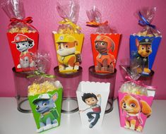 Paw Patrol Snack Boxes Set of 10 by YourPartyShoppe on Etsy