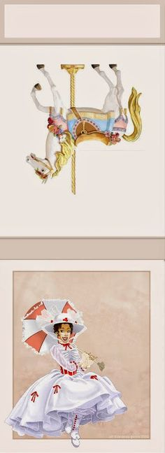 Mary Poppins: Free Printable Matchbox Favors.