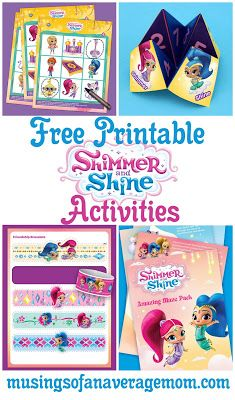 Pin On Shimmer Shine Birthday Party