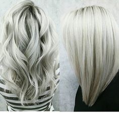❄ICY BLONDE❄ This took 3 sessions to get my guest to a #healthy, #icyblonde…