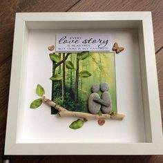 Pebble Art Couple Valentine gift gift for her gift for him Christmas Gifts For Couples, Christmas Couple, Great Anniversary Gifts, Painted Rocks, Hand Painted, Love Wall Art, Rock Crafts, Couple Art, Birthday Gifts