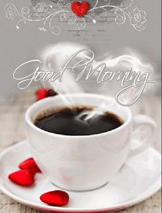 Gifs or morning greetings section good morning coffee, good morning love Good Morning Gift, Sunday Morning Coffee, Morning Rose, Good Morning Greetings, Good Morning Images, Coffee Gif, Good Night Quotes, Snack, Gifs