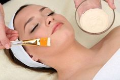 In Cosmetics, Facial Treatment, Salon Design, Close Up Photos, Facial Masks, Cosmetology, Young Women, Salons, Moisturizer