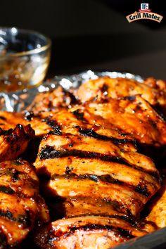 Brown Sugar Bourbon Grilled Peach Pork Chops   Recipe ...