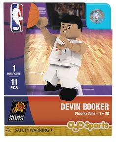 Phoenix Suns DEVIN BOOKER Home Uniform Limited Edition OYO Minifigure