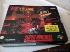 juegazo para la super nintendo secret of evermore caja grande