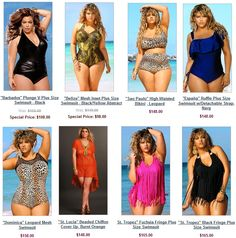 Plus Size Swimwear / Curvy Swimsuit Plus Size Bikini, Plus Size Swimsuits, Curvy Swimwear, Women's Swimwear, Bikinis, Pink Bandeau Bikini, Swimming Outfit, Swimming Clothes, Chic And Curvy