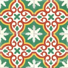 In stock encaustic cement tile. Call for more information. Tiles For Sale, Bathroom Floor Tiles, Tiles, Tile Rug, Beautiful Handmade, Beautiful Bathrooms, Encaustic Cement Tile, Kids Rugs