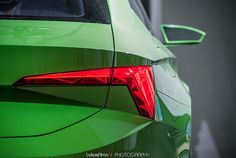 Škoda Vision C concept Ramp Design, Fancy Cars, Light My Fire, S Car, Car Lights, Car Detailing, Tail Light, Concept Cars, Lighting Design
