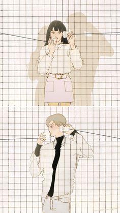 Cute Couple Comics, Couples Comics, Cute Couple Art, Anime Love Couple, Cute Anime Couples, Manga Couple, Wattpad Cover Template, Wattpad Book Covers, Couple Illustration