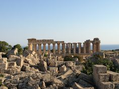 Parco Archeologico Di Selinunte nel Castelvetrano, Sicilia, a soli 15km da noi