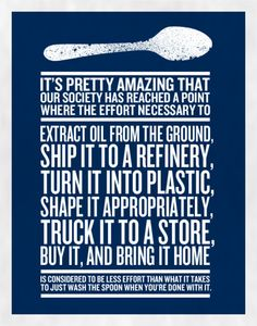 Everything that's wrong with our oil-soaked industrial economy, in one amazing poster.