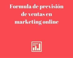 Nuevo Post! Formula de #previsión de #ventas en marketing online http://blgs.co/d3ZZ07