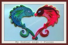 Paper quilling koi