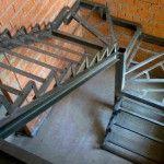 Переплата за металлокаркас лестницы