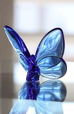 Baccarat Lucky Butterfly, Sapphire
