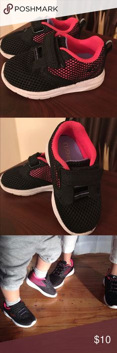 Baby Girls Champion Black & Hot Pink Champion Black & Hot Pink Mesh Athletic 15% OFF bundle SALE Champion Shoes Sneakers