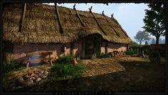 Creating a Digital Iron Age Environment---Recreating Uppsala Bit by Bit