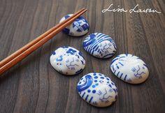ごのねこ 箸置き 有田焼 / LISA LARSON JAPANSERIES リサ・ラーソン | キッチン | Abby Lifeフェアトレード, オーガニック, デザインアイテム通販サイト