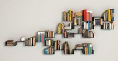 prateleiras para livros criativas e simples - Pesquisa Google