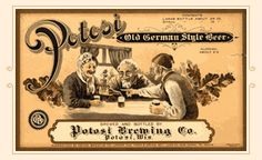 Founded in 1852 by Gabriel Hail and John Albrecht, the Potosi Brewery began as a small brewery quenching the thirsts of area farmers, fishermen and miners. Click for a full history and beer listing of Potosi Brewing Company of Potosi, Wisconsin.