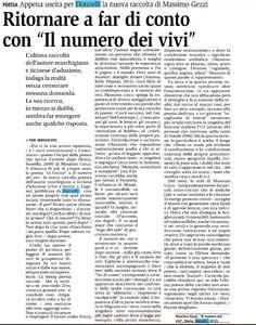 Recensione di Yari Bernasconi, «Giornale del popolo», 25.07.2015