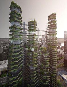 Click to see more of the futuristic housing design in LA.