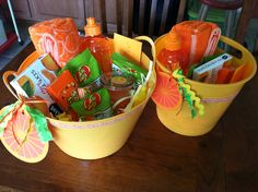 Orange you glad it's summer gifts for teacher and scout leader. Last day of school gift.