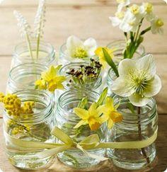 baby food jar vases