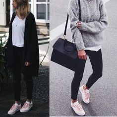 Image result for pink sneakers outfits