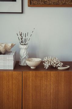 """Agnes Kimeswenger-Kilyenfalvi is an Austrian ceramic artist who produces her ceramic art pieces under the name of """"Studio ABK"""". Each of her porcelain vases and bowls are handmade and therefore unique pieces. Available in our online shop. Home decor ideas living room 